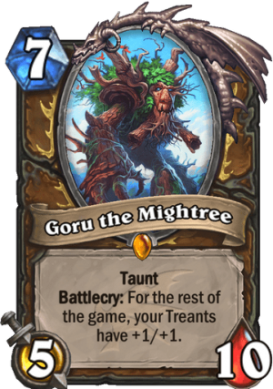 Goru the Mightree Card
