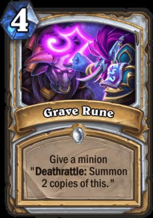 Grave Rune Card