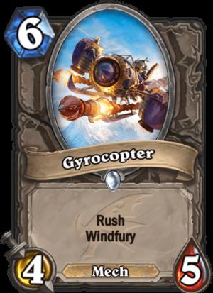 Gyrocopter Card