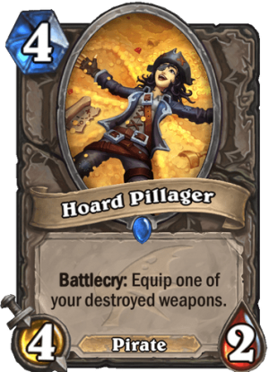 Hoard Pillager Card