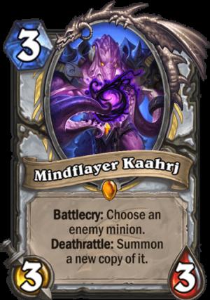 Mindflayer Kaahrj Card