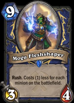 Mogu Fleshshaper Card