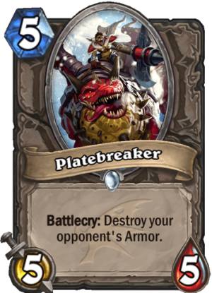 Platebreaker Card