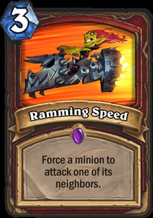 Ramming Speed Card