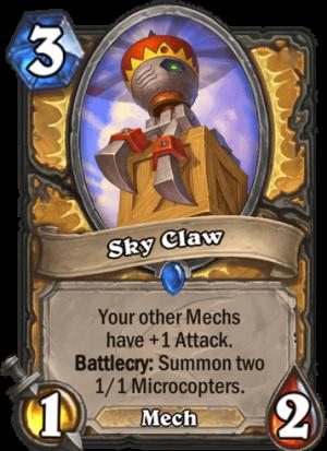 Sky Claw Card