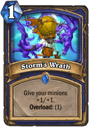 Storm's Wrath Card