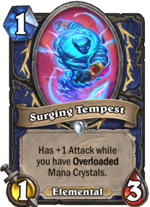 Surging Tempest Card