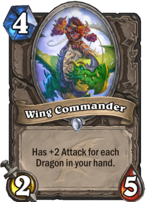 Wing Commander Card
