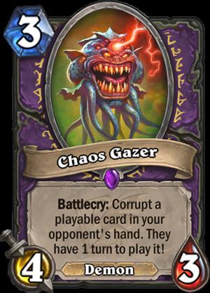 Chaos Gazer Card
