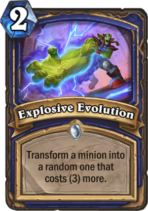 Explosive Evolution Card