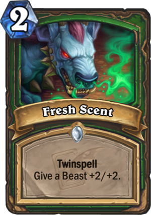 Fresh Scent Card