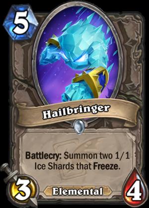 Hailbringer Card