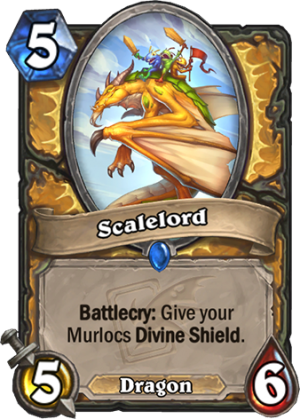 Scalelord Card