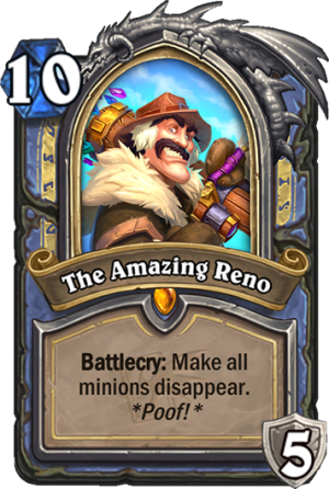 The Amazing Reno Card