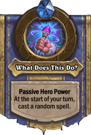 What Does This Do? Card