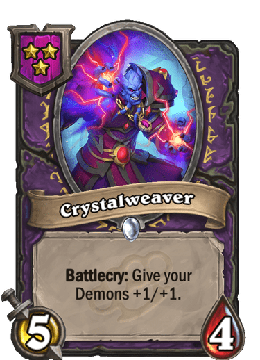 Crystalweaver Card