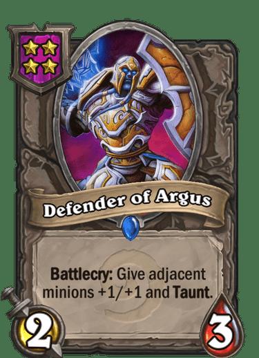 Defender of Argus Card