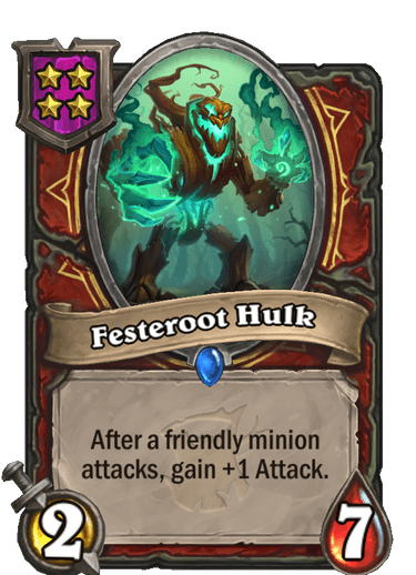 Festeroot Hulk Card