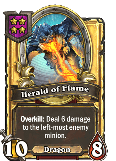 Herald of Flame Card