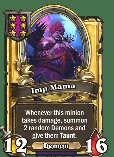 Imp Mama Card