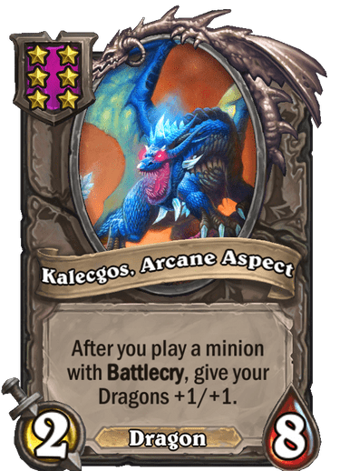 Kalecgos, Arcane Aspect Card