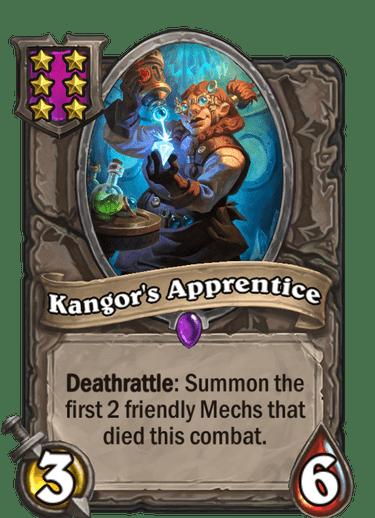 Kangor's Apprentice Card