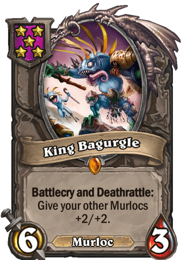 King Bagurgle Card
