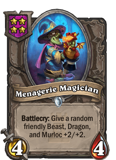 Menagerie Magician Card