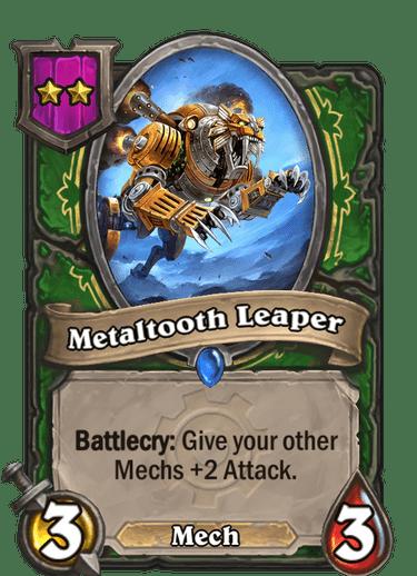 Metaltooth Leaper Card
