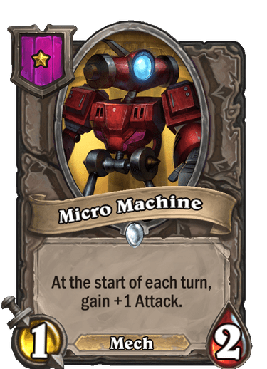 Micro Machine Card