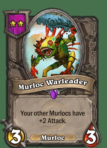 Murloc Warleader Card