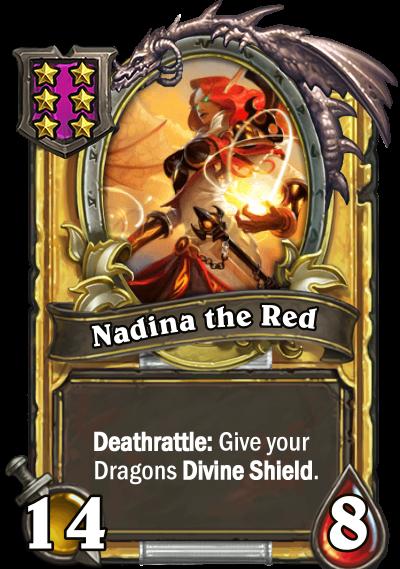 Nadina the Red Card