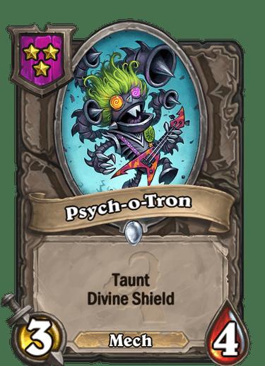 Psych-o-Tron Card