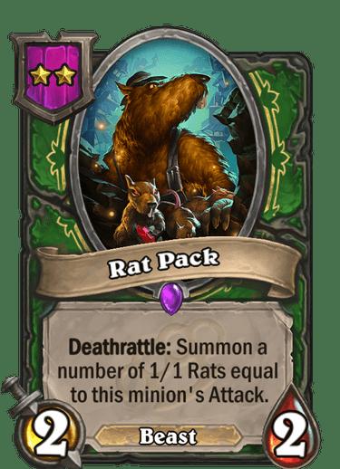 Rat Pack Card