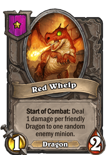 Red Whelp Card