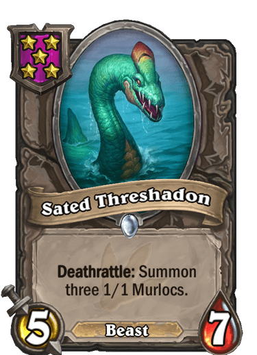 Sated Threshadon Card