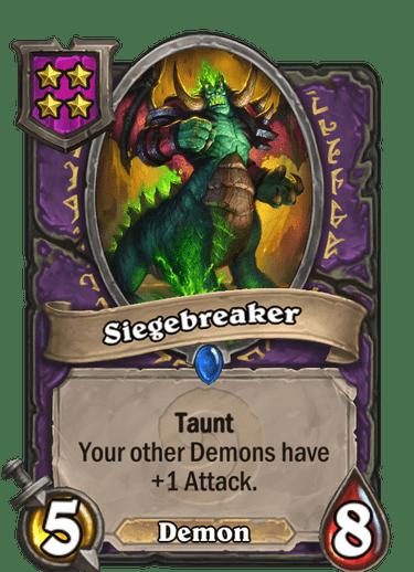 Siegebreaker Card