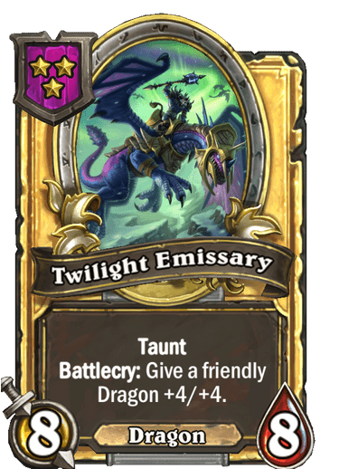 Twilight Emissary Card