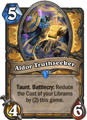 Aldor Truthseeker Card