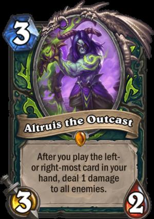 Altruis the Outcast Card