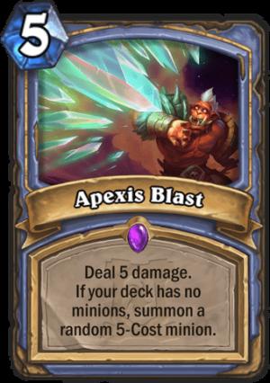 Apexis Blast Card