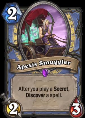 Apexis Smuggler Card