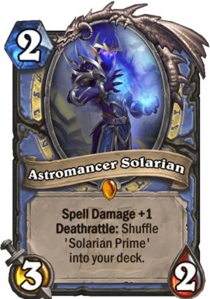 Astromancer Solarian Card