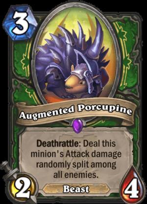 Augmented Porcupine Card