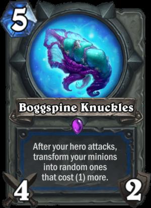 Boggspine Knuckles Card