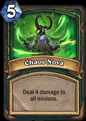 Chaos Nova Card