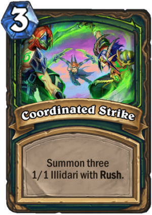 Coordinated Strike Card