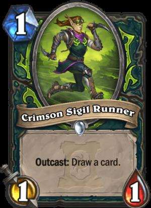 Crimson Sigil Runner Card