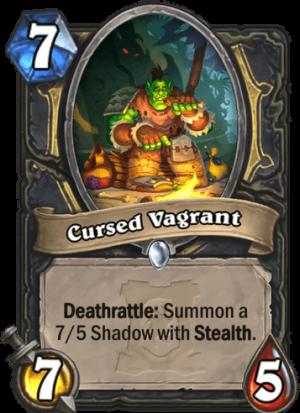 Cursed Vagrant Card
