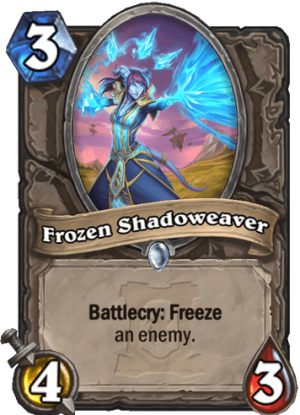 Frozen Shadoweaver Card